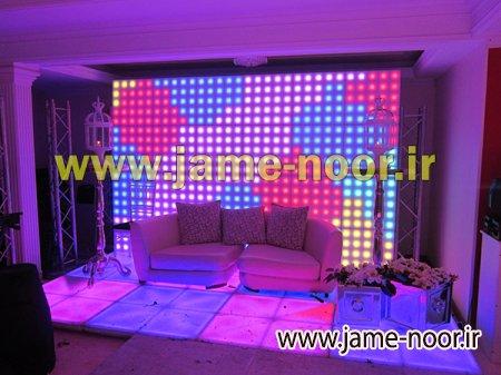 دیوار LED