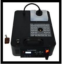 دستگاه بخار ساز دستگاه مه ساز دودزا 1500 وات عمودی ای ای دی LED